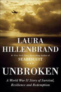 Laura Hillenbrand's book Unbroken